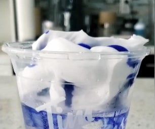 DIY Rain Cloud Experiment