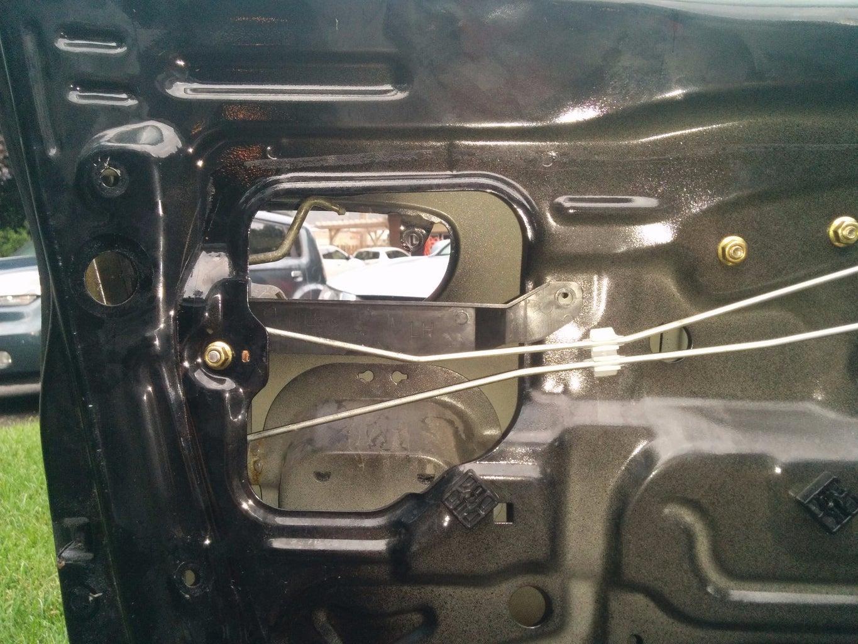 Fixing a Broken Car Door Handle