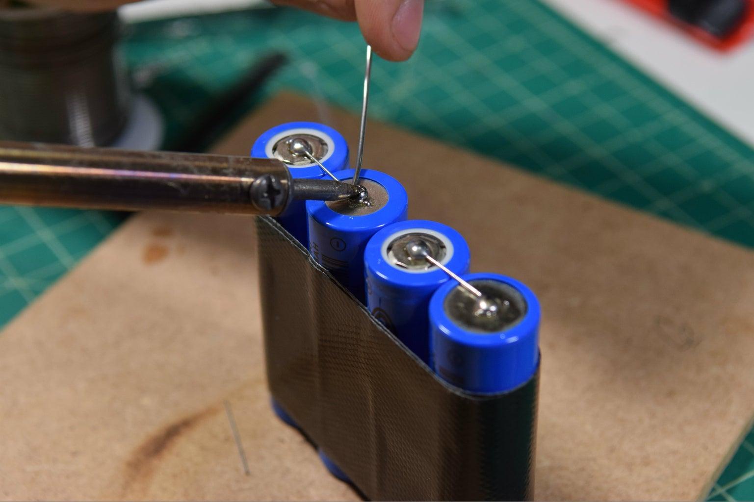 Assemble Li-ion the Battery Pack