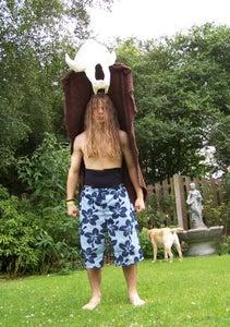Giant Floating Bear Skull Costume!