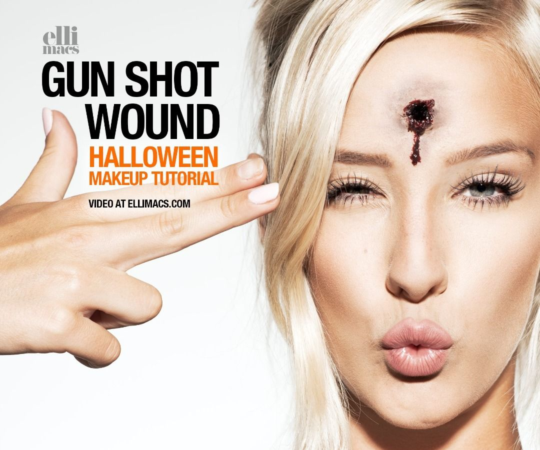Gun Shot Wound - SFX Makeup Tutorial