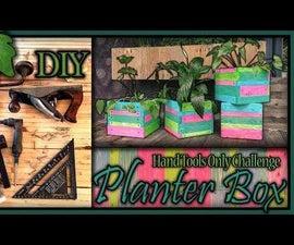 Pallet Wood Planter Box (+video)