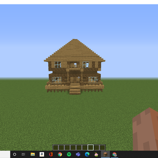 How To Make A Minecraft House 13 Steps Instructables