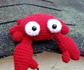 Harriet the Red Crab