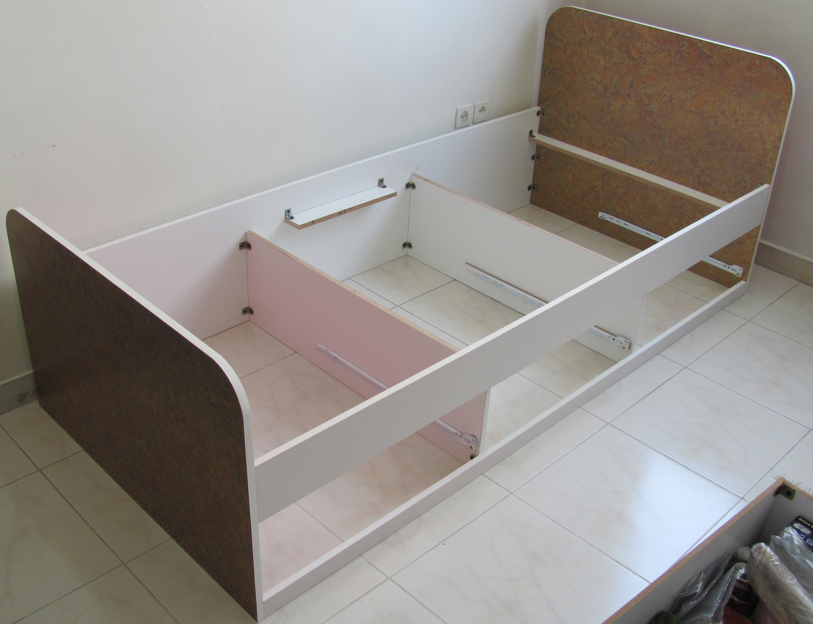 Simple MDF Bed