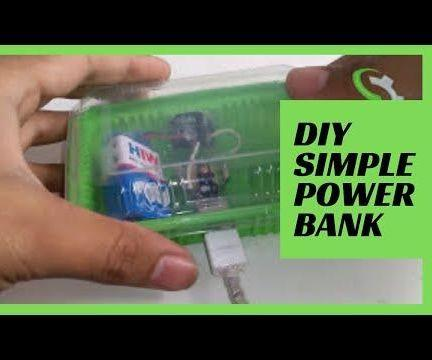 How to Make a Mobile Phone Charger |  DIY Simple Power Bank
