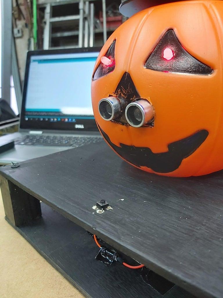 Install the Ultrasonic Sensor