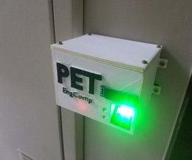Electric Door Lock With Fingerprint Scanner and RFID Reader