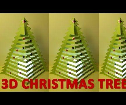 How to make 3D Christmas trees