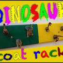 Dinosaur Coat Hanger: