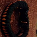 Halloween Colored Paracord Bracelet