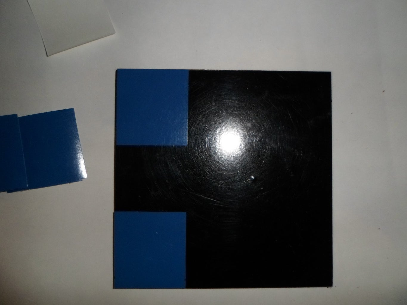 Step 5: Stick the Other Vinyl Paper
