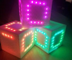 IMU Controlled LED Cube (Simon Says)
