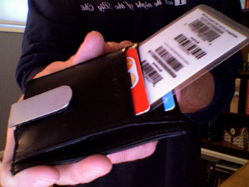 Bonus Card Barcode Hack