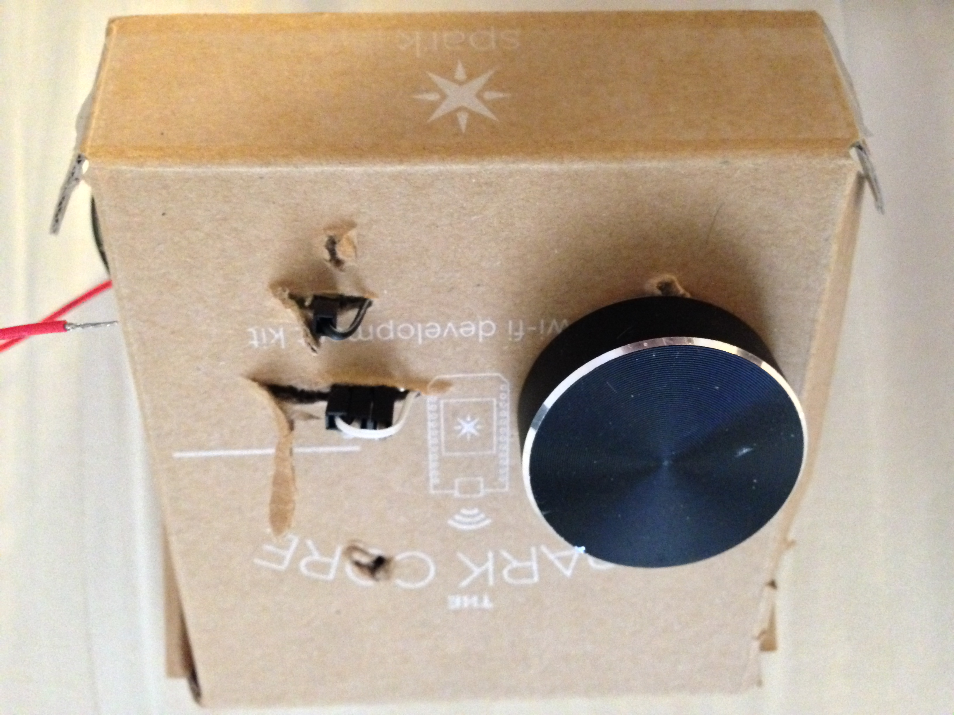 Creating a Bluetooth wireless scrollwheel