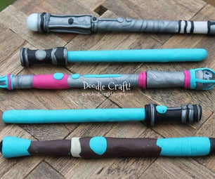 Make Your Own Sonic Screwdrivers and Lightsaber Pens! :)  Sci-Fi Back to School Geekery!