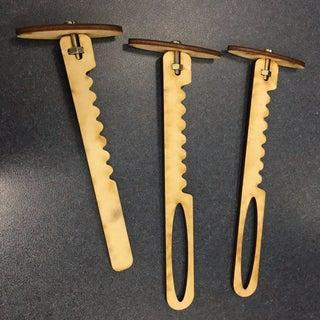 Laser Cut Hooey Stick