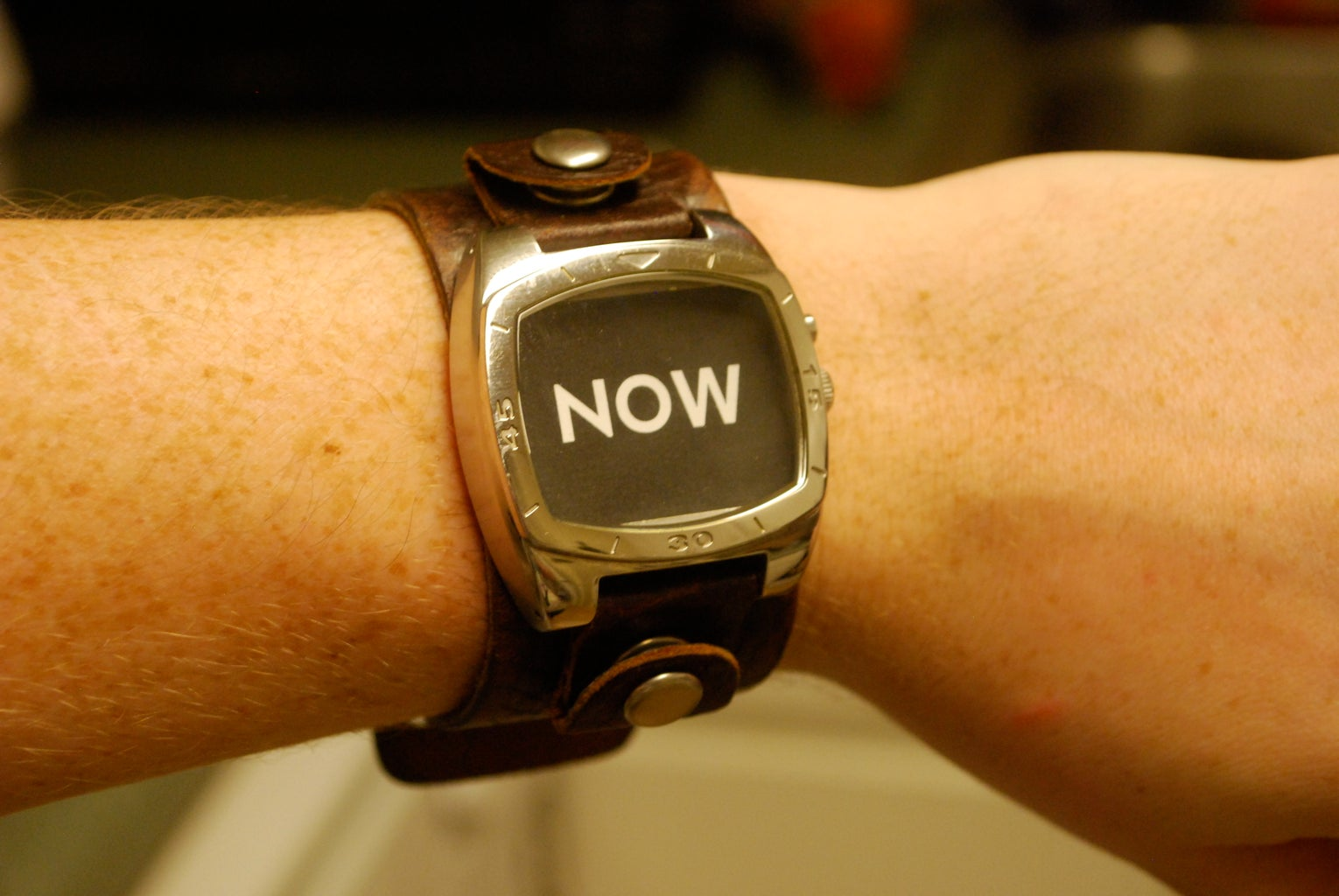 Glue on Your Design and Wear Your Watch!