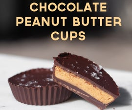 Homemade Chocolate Peanut Butter Cups