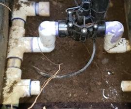 EASY Way to Replace Underground Sprinkler Valves