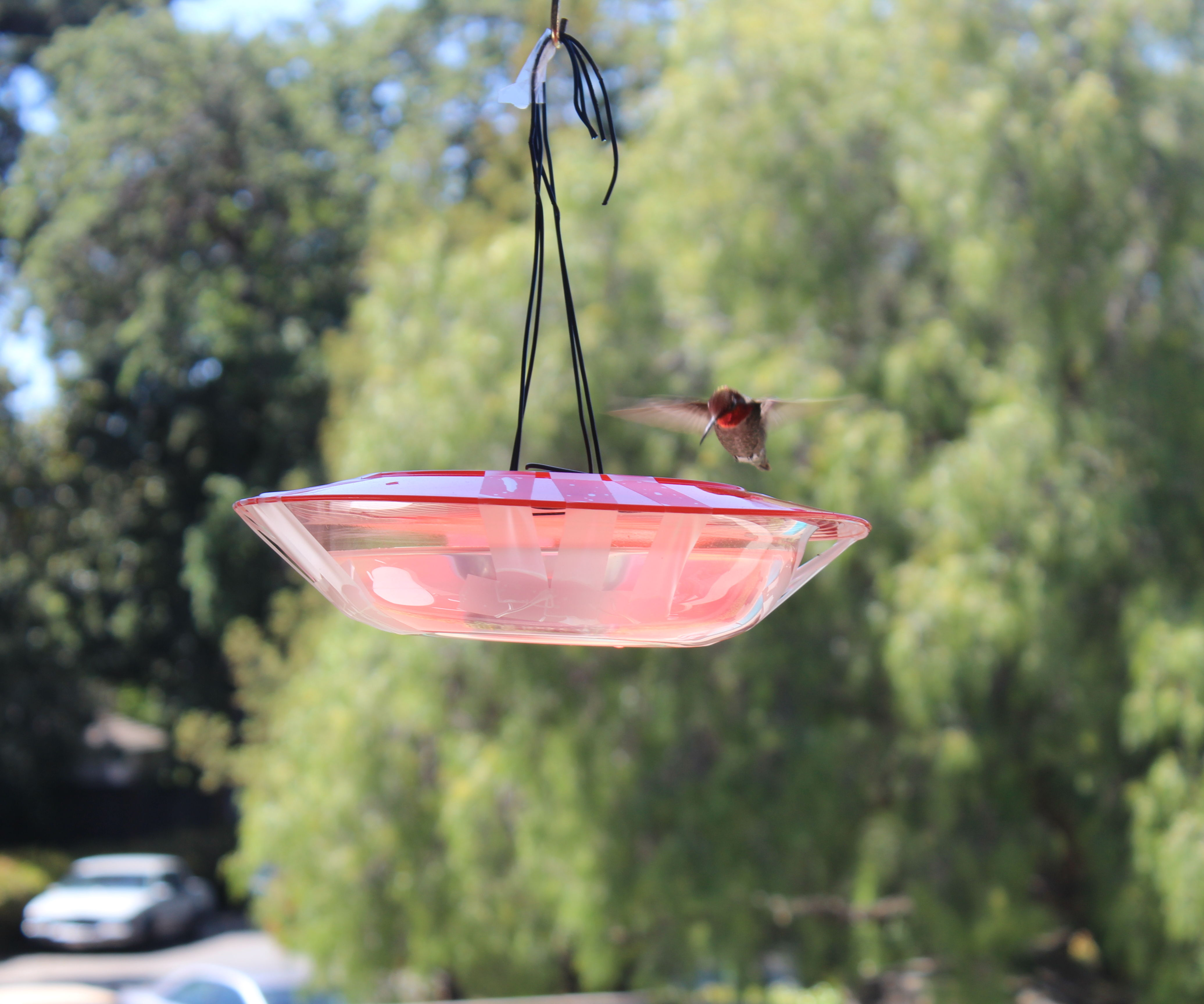 Saucer-Style Hummingbird Feeder @ Techshop