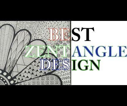 How To Make The Best Zentangle Flower Design