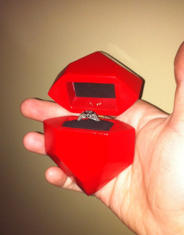 The Legend of Zelda: Rupee Engagement Ring Box