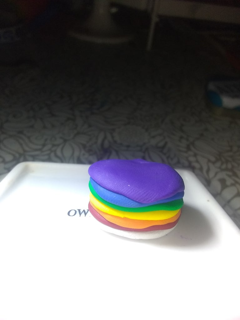 The Rainbow Cake!