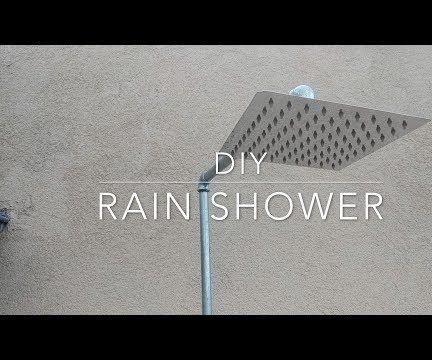 DIY Outdoor Rain Shower