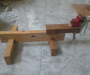 MY BENCH VISE WITH STAND