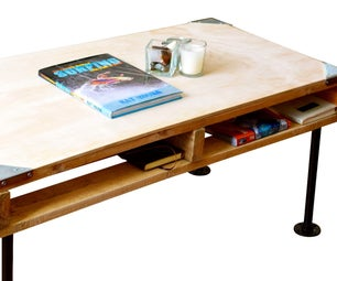 A Step-By-Step Guide to Building an Industrial Style Pallet Coffee Table