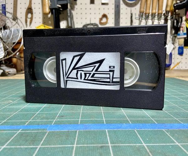 VHS Tape Dispenser