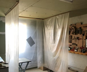 Removable Spray Booth for My Workshop