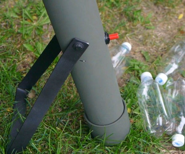 Make a Soda Bottle Rocket Mortar Launcher