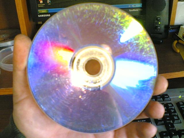 CD SCRATCH REPAIR