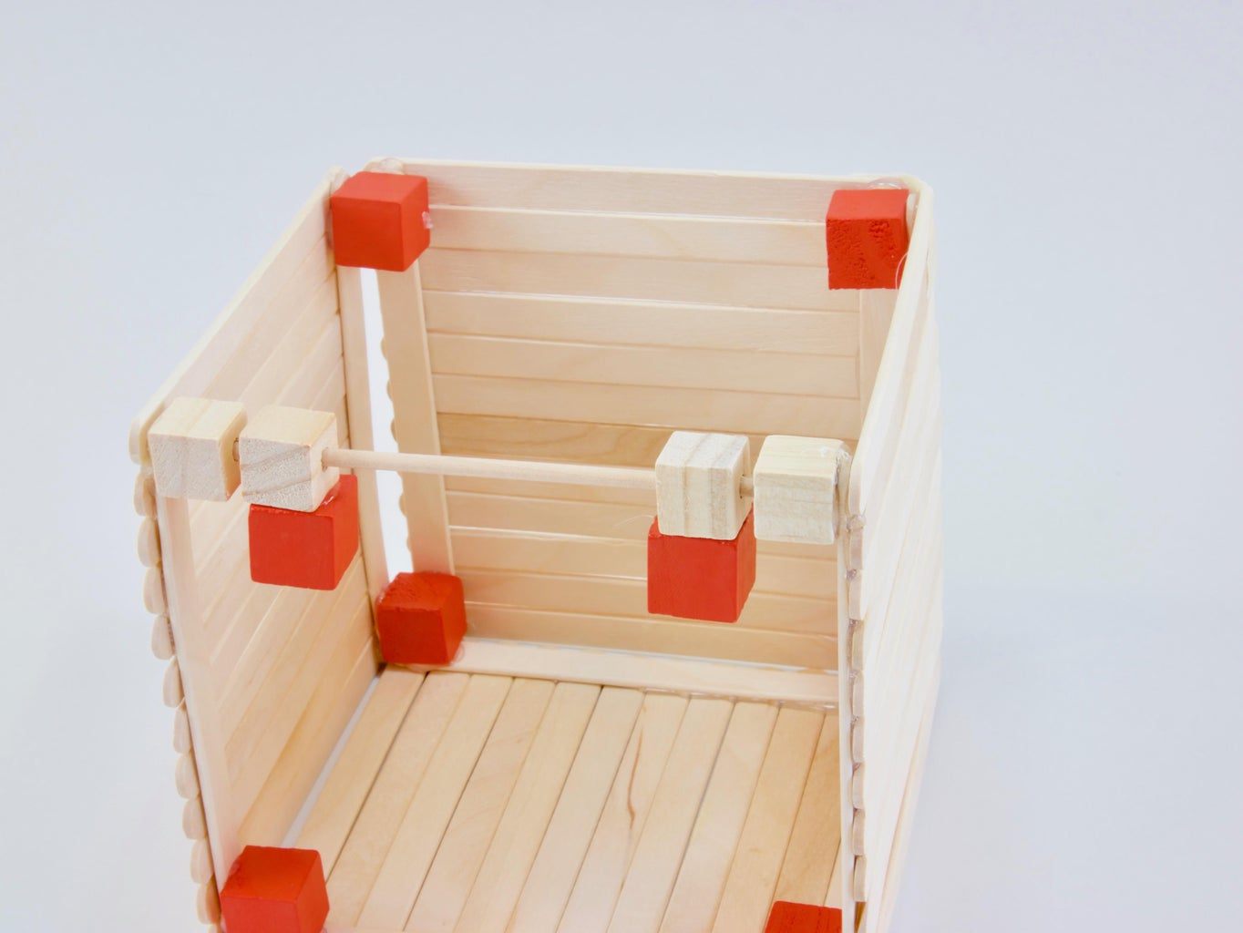 Create the Hinge and Lid