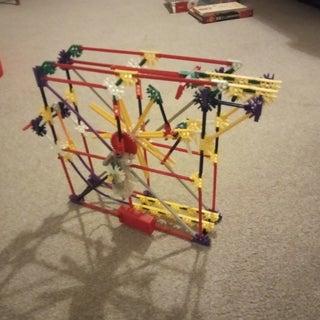 Sandro's Wheel Lift, a Knex Ball Machine Lift