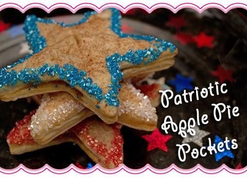 Patriotic Apple Pie Pockets