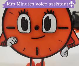Mrs Minutes Voice Assistant Using Raspberry Pi Zero W