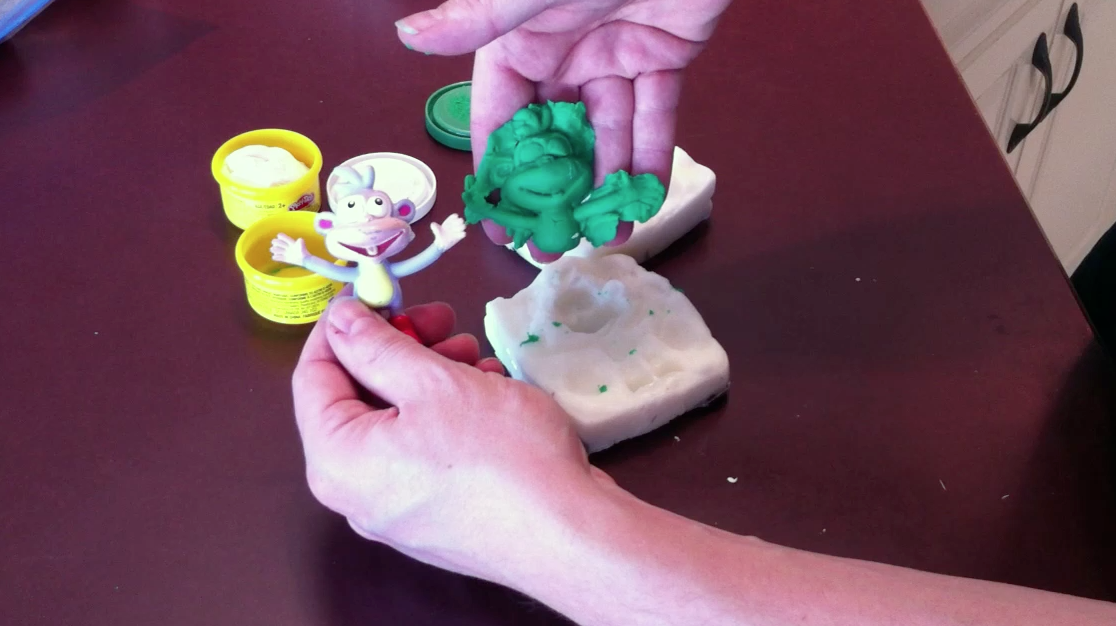 Make a silicone mold from common household materials in your kitchen in 1 hour
