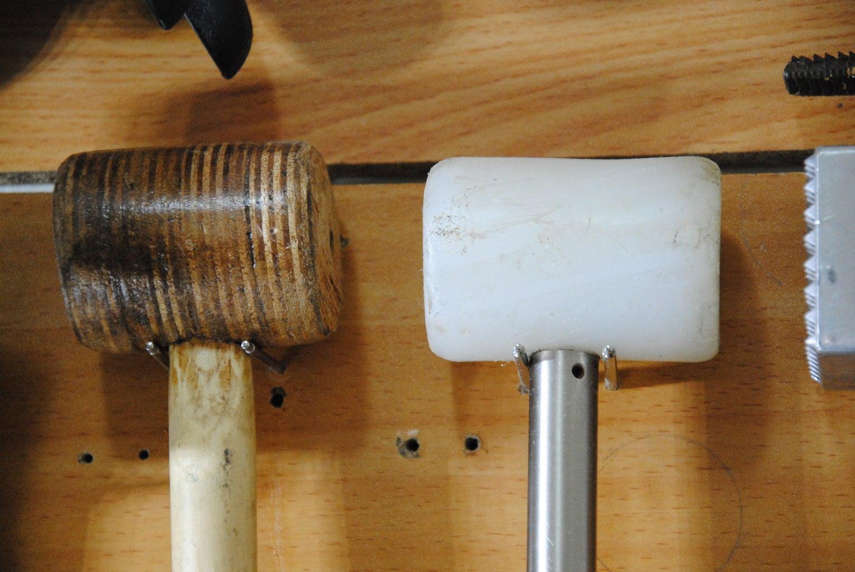 Salvaged Metal Rods