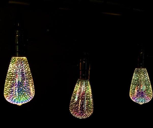 DIY Metal Pipe Floor Lamp With Charging Station