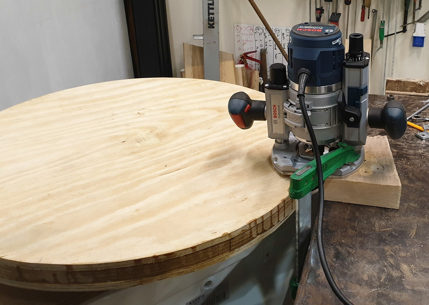 Truing the Turntable