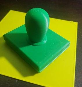 Sello Realizado Con Impresión 3D