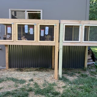 Building a Sectional Rabbit Hutch