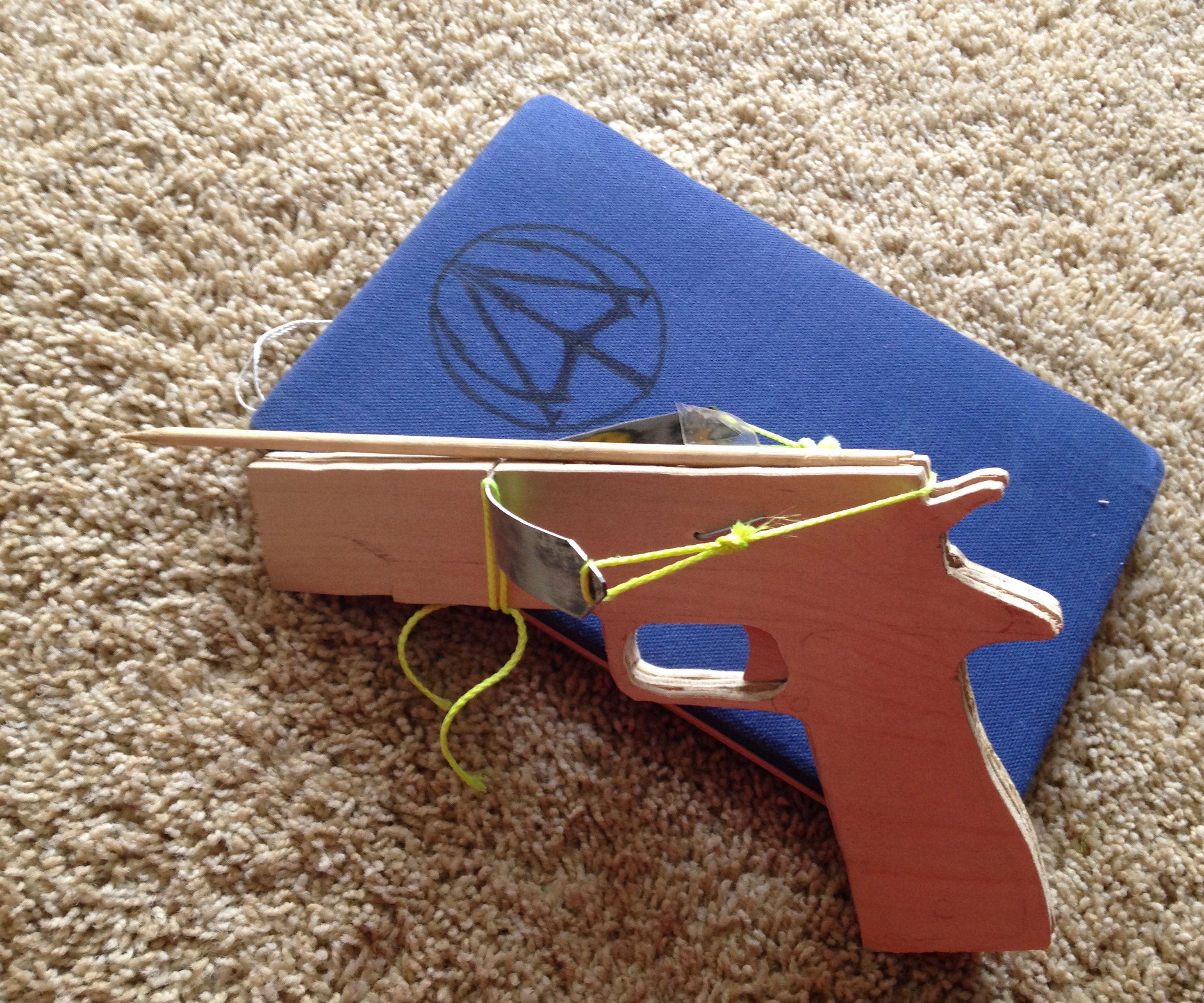 Crossbow Pistol Styled like a Colt M1911