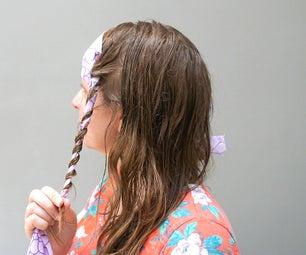 如何使布卷|卷你的头发没有热量| 2选项比较!