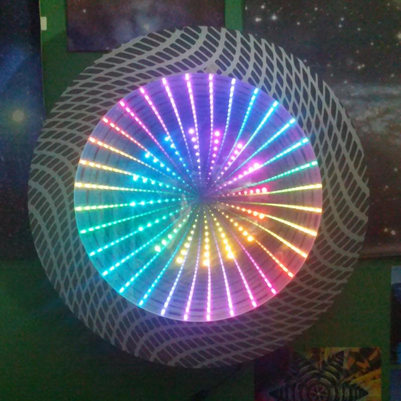 "18"" Round LED Infinity Mirror Kit"