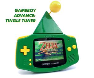 Gameboy Advance: Tingle Tuner Custom Console