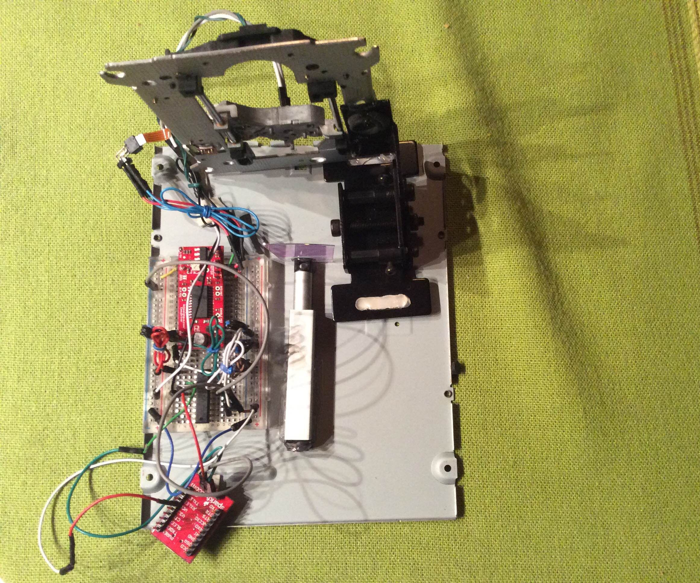 DIY Spectrometer) Explore the Unknown ->